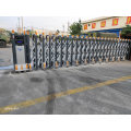 Senior Grey Aluminum Alloy Retractable Gate for Company Use