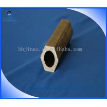 Tubo de aço hexagonal interior e exterior sem costura e tubo de aço hexagonal
