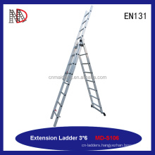 MAIDENG 14ft(4.3m) Aluminum 300-lb 2 sections Extension Ladders