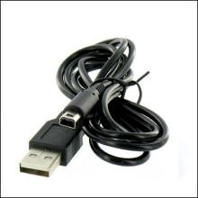 Câble de remplissage de câble de chargeur d'énergie de 1.2M USB pour Nintendo 3DS XL noir