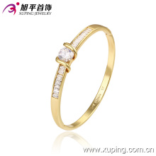 Novo Xuping moda 14k ouro bonito sutil elegante bracelete com piscando Zircon