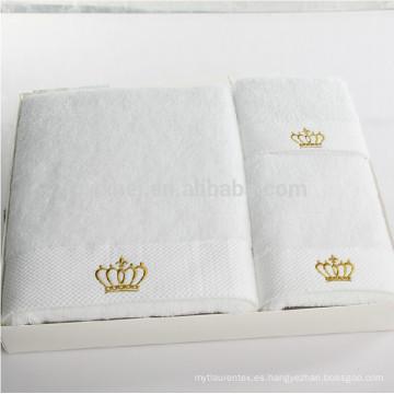 Toalla de baño de la toalla de la cara de la toalla de la toalla de algodón del color sólido del color sólido al por mayor