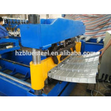 Arch Sheet Roll Forming Machine , Metal Roof Panel Curving Bending Machine , Half Round Roof Making Machinery