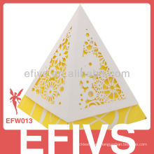 En forma de torre delicado favor de la boda Caja Embalaje del proveedor