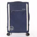 dicetak nilon spinner troli soft luggage