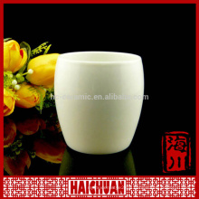 HCC high quality double wall ceramic thermal travel mug