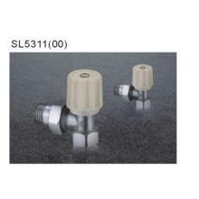 Válvula de regulación del radiador cromado de latón