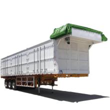 Semi-remorque à benne basculante à 6 essieux pour l'Ouzbékistan