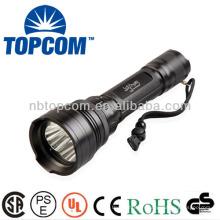 IP68 sous l'eau 300 m 3 conduit cree xm-l t6 ultra lumineux conduit plongée puissante lampe de poche led
