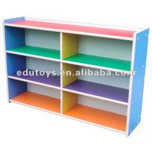 Gabinetes para libros de madera para niños