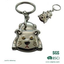Изготовленный на заказ металл 3D сплава keychain для Промотирования