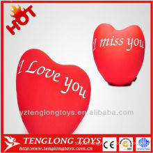 2014 HOTsale romantic valentine plush lovers cushion