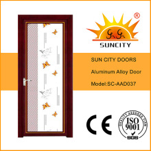 Factory Price Top Sales Single Swing Glass Aluminum Doors (SC-AAD037)