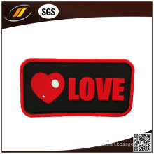 Hot Design Rubber Label for Leather Trunk (HJL34)