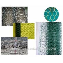Anping Tianyue honesto venta de alta calidad y precio bajo red de alambre hexagonal (galvanizado, negro recocido, PVC revestido de alambre)