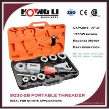"""Hongli SQ30-2B máquina de roscar de tubos portátil eléctrica con CE y CSA para 3/8 """"-2"""""""