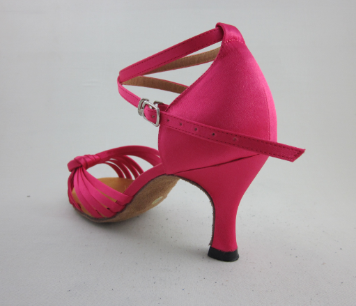 Pink Latin Shoes For Ladies