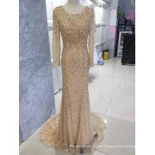 Vestido de noche de oro, vestido de baile rojo vino, vestido de noche azul, vestido de noche gris