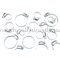 Band small worm stainless steel hose clamp