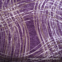 Жаккарда Синеля Пряжа Покрашенная ткань для чехлов на диваны