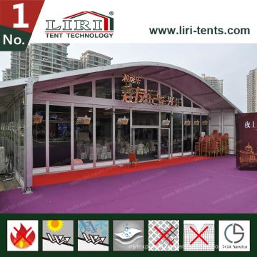 20m Luxus Outdoor Arcum Hochzeit Party Zelt für 800 Personen