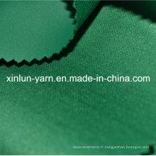Tissu 100% polyester confectionné pour vêtement en tissu