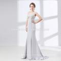 Großhandelsluxus langes Meerjungfrau bördelte Abendkleid für die Hochzeit
