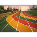 Anti-Vergilbung PU Courts Sportbelag Athletic Running Track