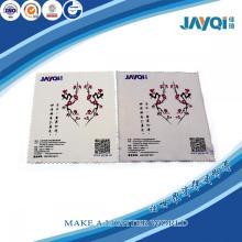 Logo Print Optic Glasses Microfiber Wipe Cloth