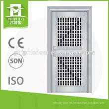 Diseño de la puerta de acero inoxidable 304 con buena superficie hecha en China.