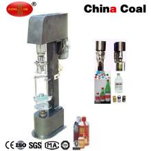 semi automatic ropp cap glass bottle screw cap machine