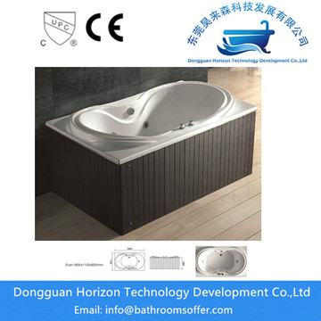 Hydromassage spa bathtub acrylic bathtub