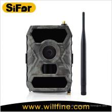 batteriebetriebene drahtlose Überwachungskamera mit 3G / WIFI / MMS / GPRS / SMTP Option 12MP 720P Video