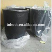 100 # 120 # 150 # 200 # 350 # 40 # 60 # 80 # 8 ml sinterização de cerâmica cerâmica SIC carboneto de silício cadinho de cerâmica