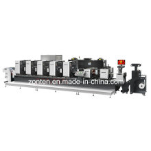 Высокоскоростная многоцветная офсетная печатная машина Ztj330