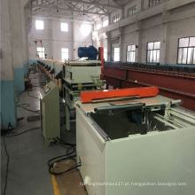 Equipamento interno da linha de produção da placa da isolação da parede