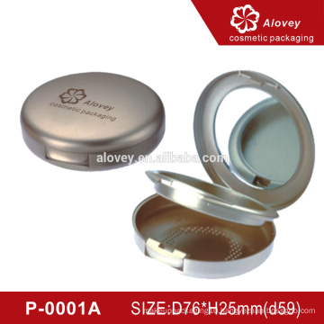 Empty Plastic Makeup Compact Powder Container