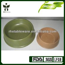 Bio bambú fibra perro cuencos