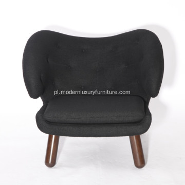 Finn Juhl Leather Pelican Chair