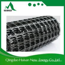 Grade do solo PP Biaxial Estabilização Geogrid com material plástico