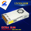 High Quality 350w single output power supply 12V30A for LED light CE RoHS approved