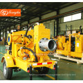 Mobile Dewatering Dirt Drain Diesel Water Pump