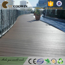 Balcón impermeable al aire libre cubierta laminada de plástico wpc cubierta de pisos