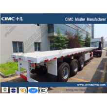 CIMC Air suspension container flatbed semi trailer