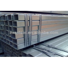 q235 galvanized rectangular steel pipes/galvanized square pipe /tube with high quality