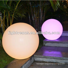 50cm IP68 Induction Charging LED Color Changing Ball