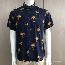 Мужские рубашки с короткими рукавами и принтом на заказ