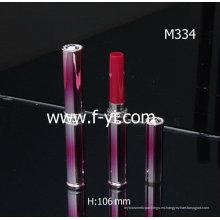 Tubo de labios de plástico delgado personalizado