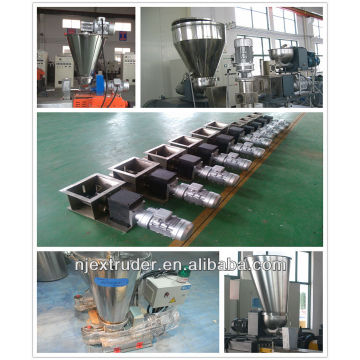 Newest plastic twin screw extruding machine feeder