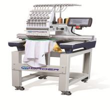 Máquina de bordar de cabeça de computador único único